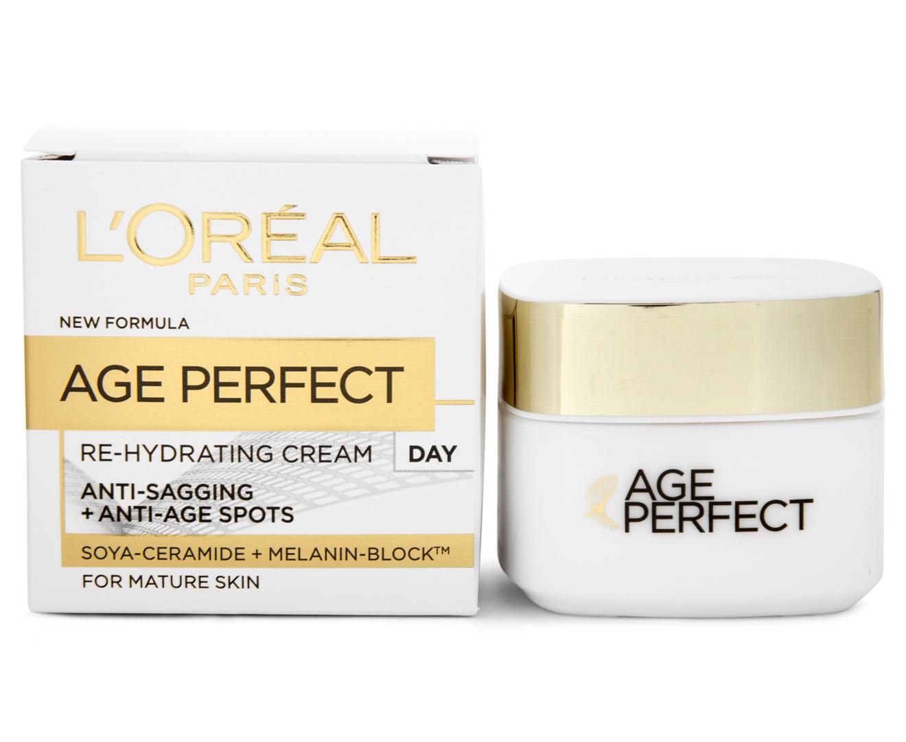 L'Oréal Age Perfect Rehydrating Day & Night Cream 50mL 5011408054392 | eBay