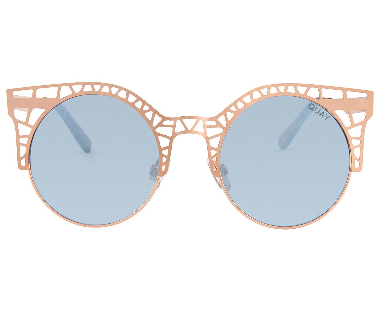 22ee8504623 Quay Australia Women s Fleur Sunglasses - Rose Gold Lilac