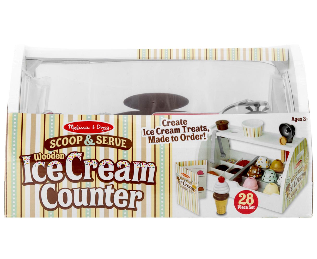 Melissa Doug Scoop Serve Ice Cream Counter