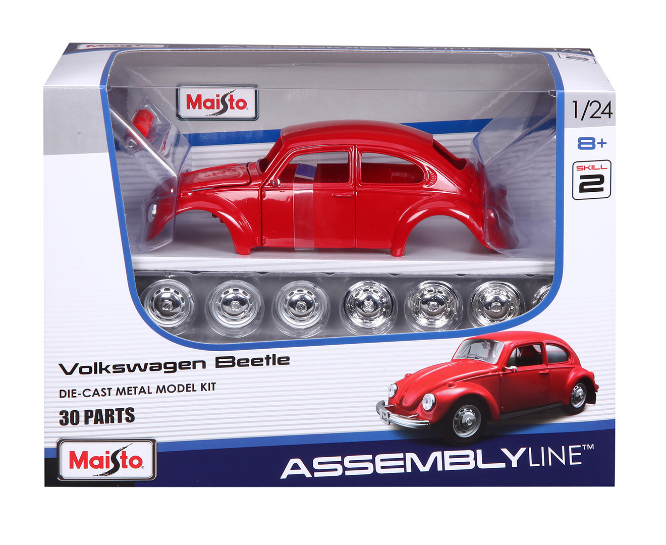 What Brands Does Volkswagen Own >> Maisto Assembly Line 1:24 VW Beetle Model Car Kit 90159399261 | eBay