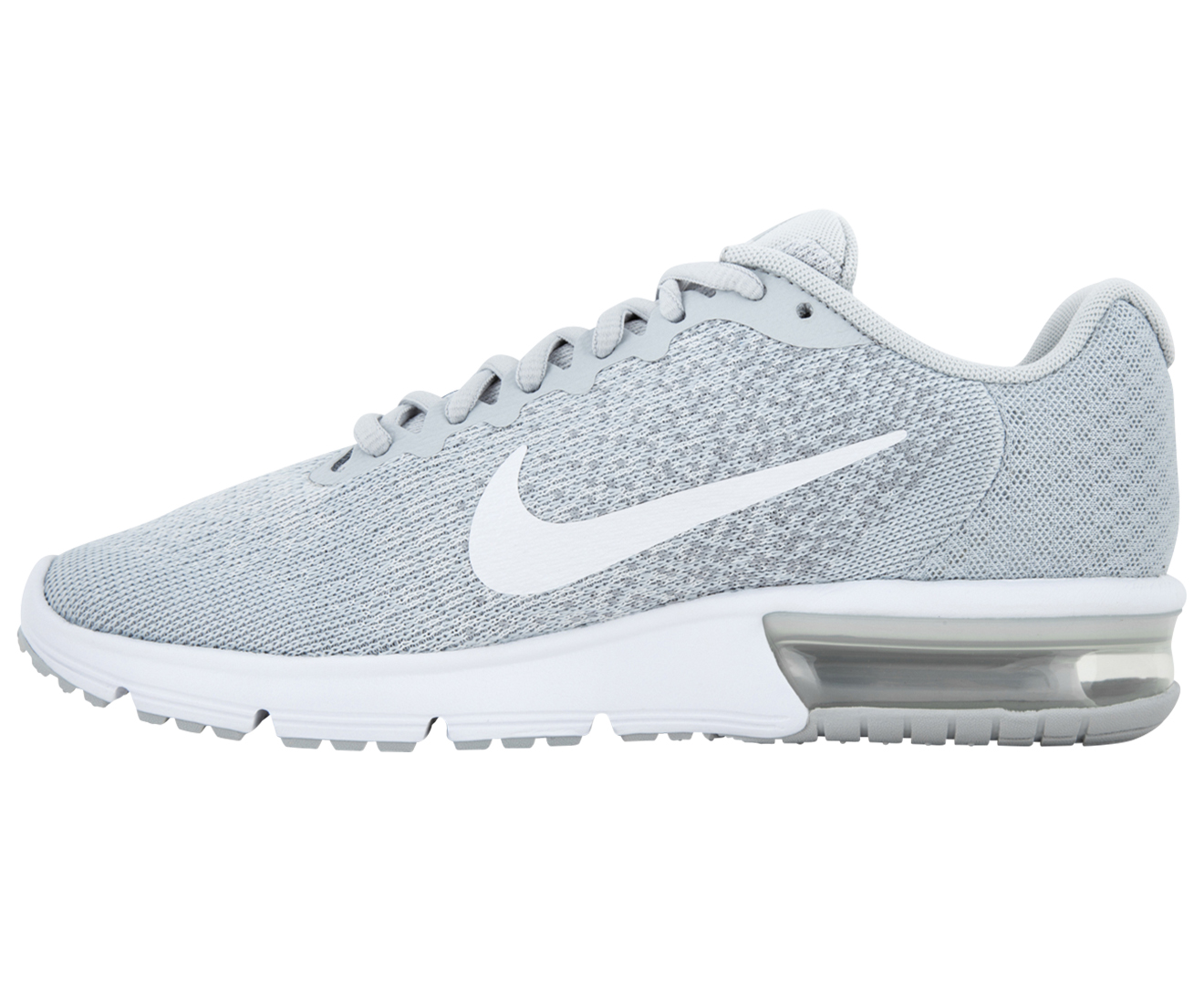 Nike Women's Air Max Sequent 2 Shoe Pure PlatinumWhite Wolf Grey