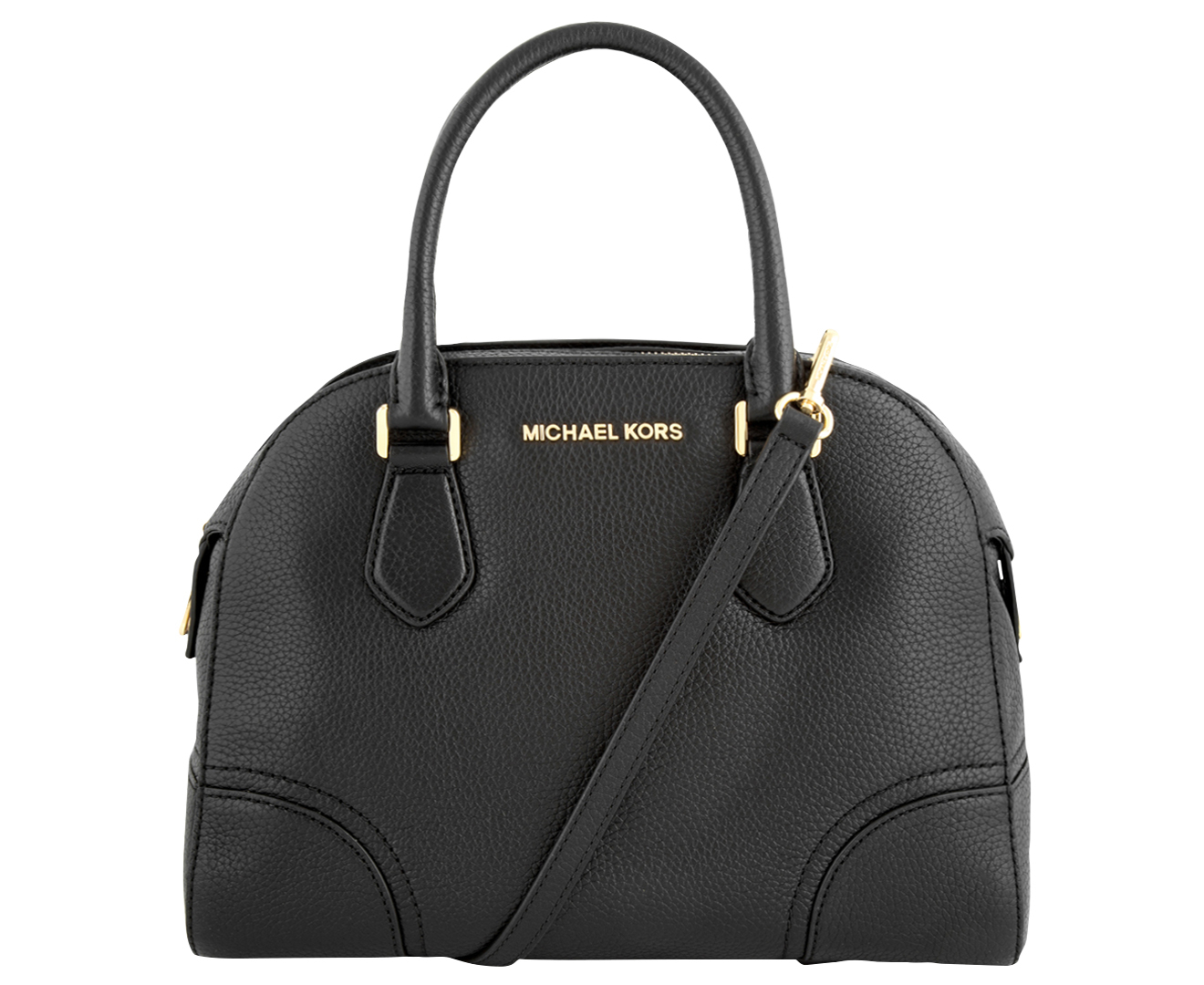 c32ba2ef24dd4d sweden michael kors hattie leather bowler bag black catch.au 53c8a b0f02