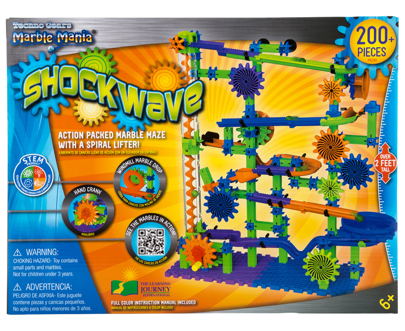 Techno Gears Marble Mania Shockwave Playset Mumgo Com Au