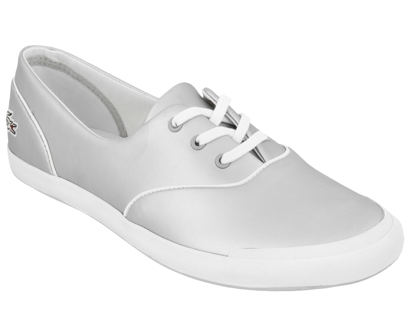 9edb2a147d9a Lacoste Women s Lancelle 3 Eye Trainer - Grey