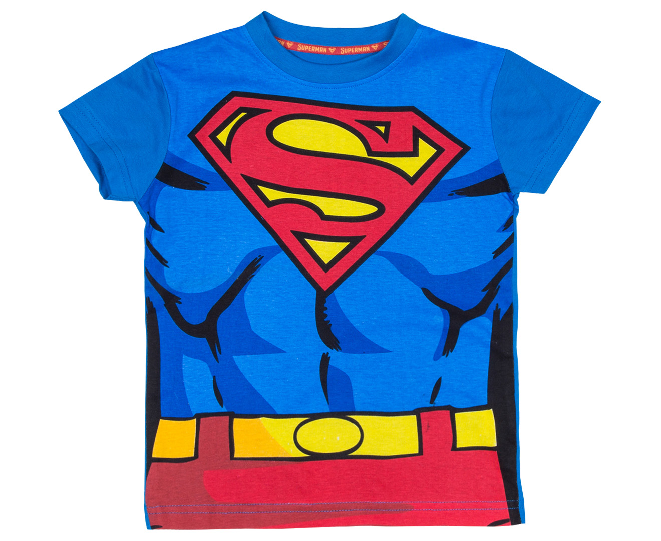 Superman T-Shirt. Design by Heroified. Superman Inner Cutout Emblem. Color: Red. Gender. Style. Size. Sizing. $14 $ Add To Cart. Material Info % combed ringspun cotton. The perfect fabric for a graphic tee and the softest in the business.