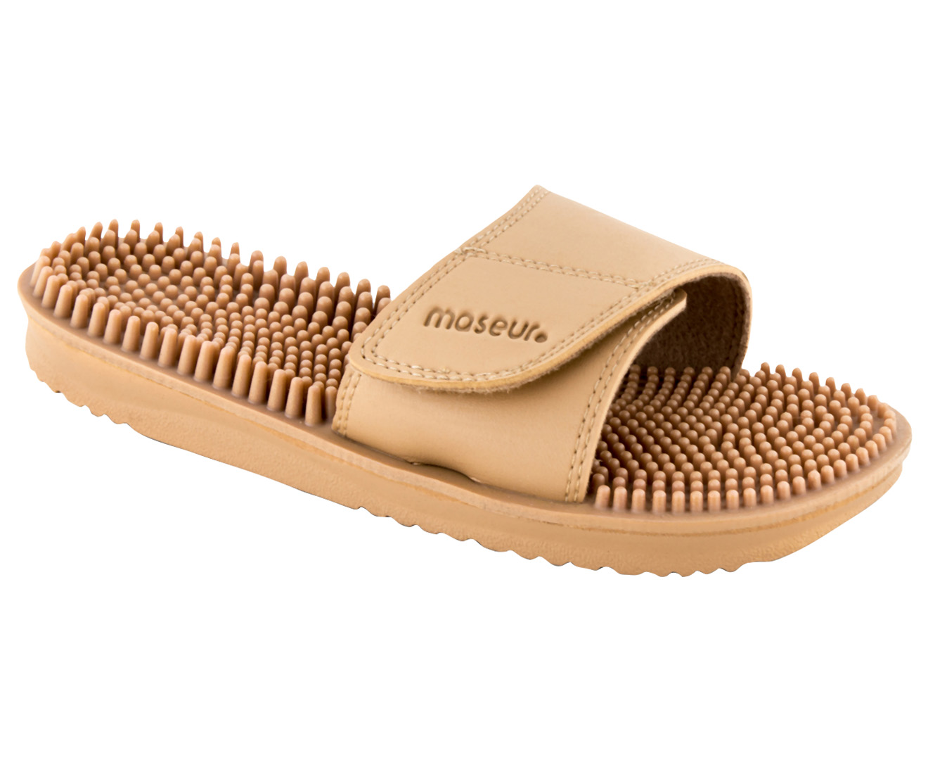 53a858b49f09 Maseur Invigorating Massage Sandal - Beige