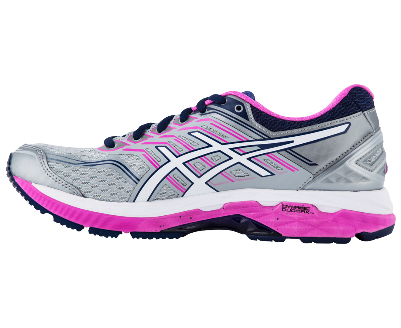 Asics Gt   D Women S Running Shoe White Pink Glow
