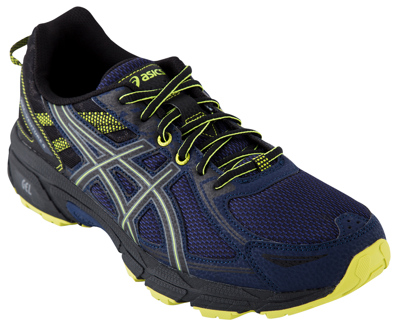 Asics Men S Gel Venture 6 Shoe Indigo Blue Black Energy