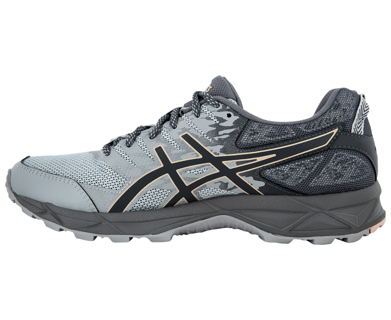 10034e7a0979 ASICS Women s GEL-Sonoma 3 Shoe - Mid Grey Carbon Evening Sand ...