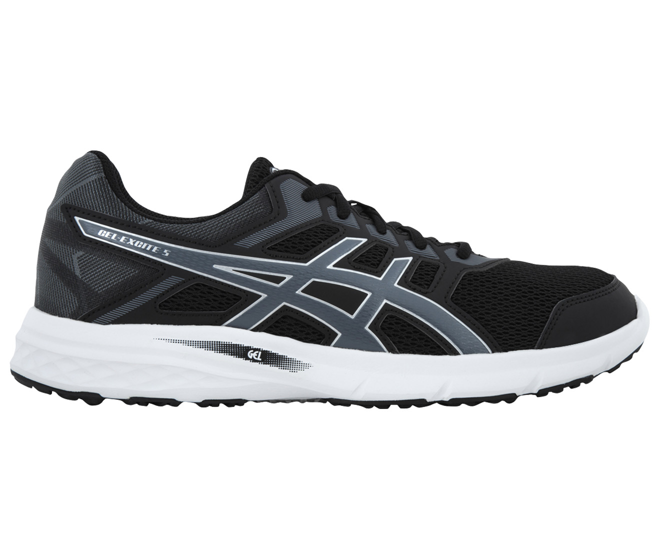 ASICS Men's GEL-Excite 5 Shoe - Black/Carbon/Silver
