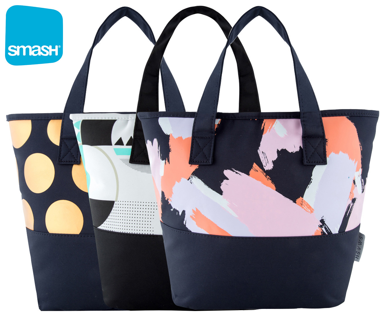 smash layla insulated lunch bag assorted scoopon shopping. Black Bedroom Furniture Sets. Home Design Ideas