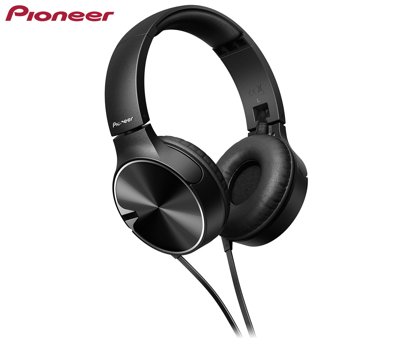 Pioneer SE-MJ722T Bass Dynamic Headphones w/ Mic