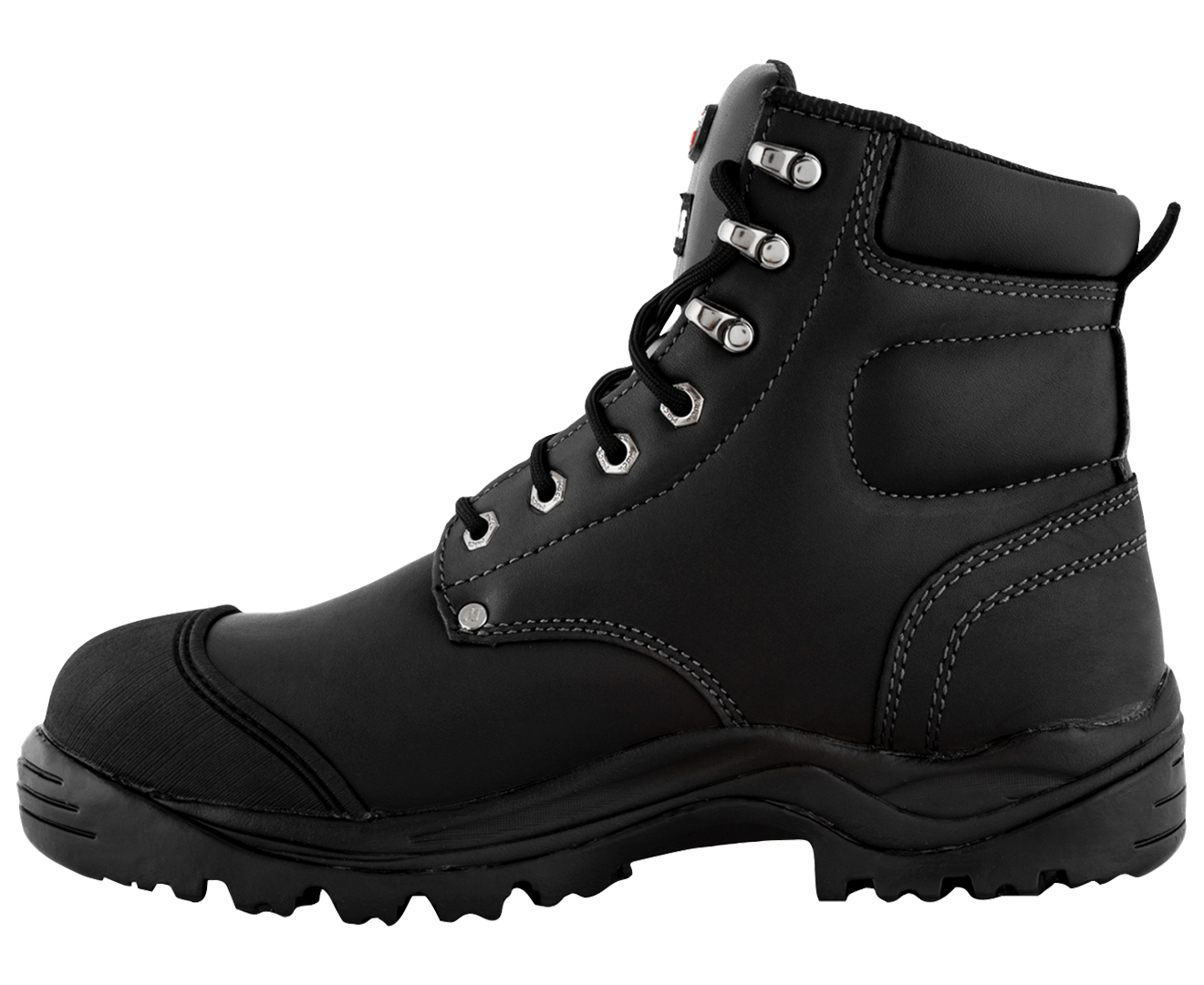 5edfce2c87b7 Mack Men s Stirling Steel Safety Boot - Black