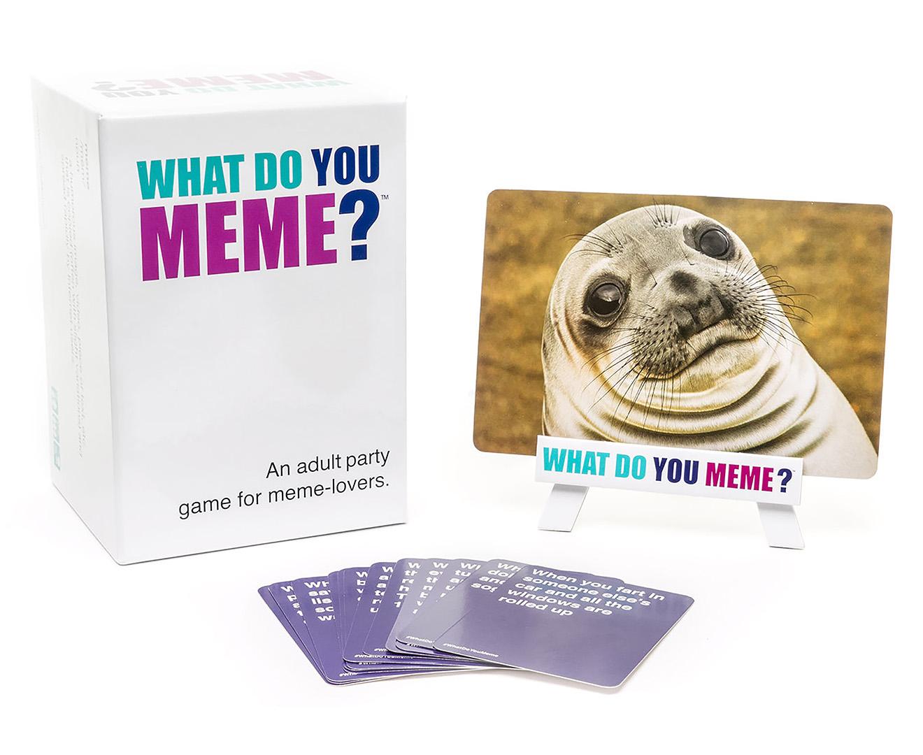 What Do You Meme? Card Game | Catch.com.au
