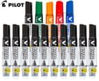 Pilot V Board Master Whiteboard Marker 10-Pack + Bonus 5-Pack - Black/Assorted 1