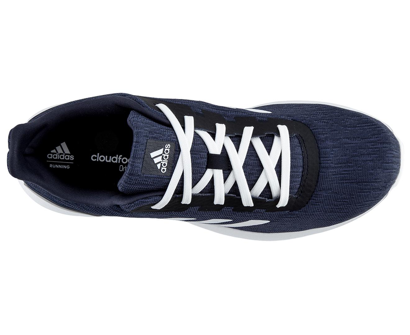 Running Shoe Hits Ground