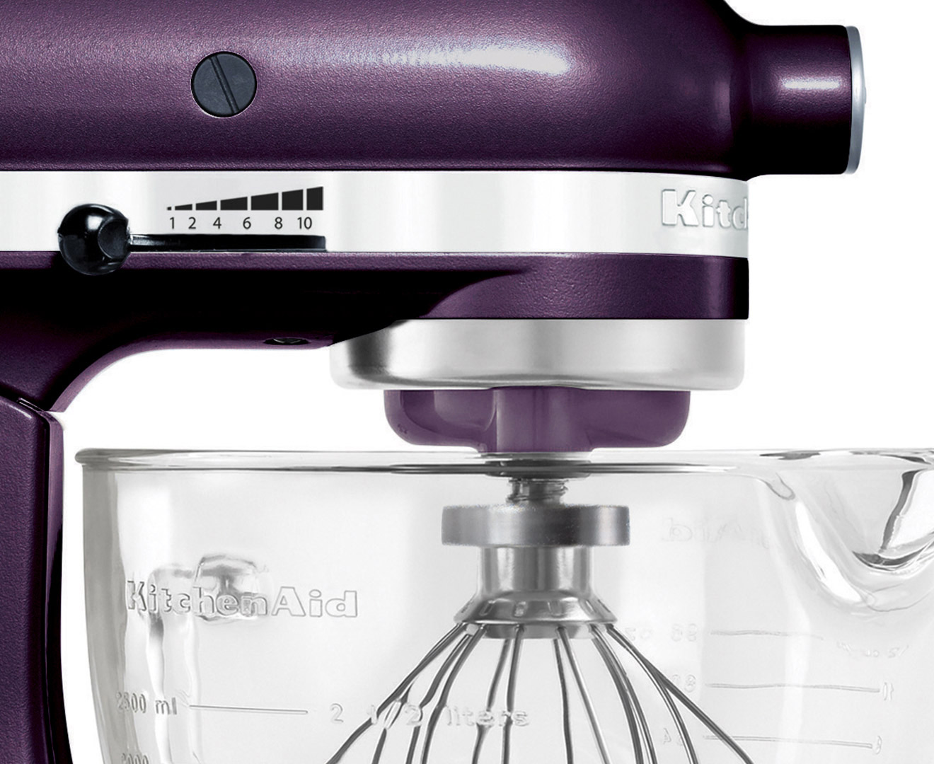 A smaller version of commercial-size models, this versatile stand mixer is designed with enough power and capacity to prepare large batches of cake batter or cookie dough without compromising your kitchen counter space. It's expertly hand assemble.