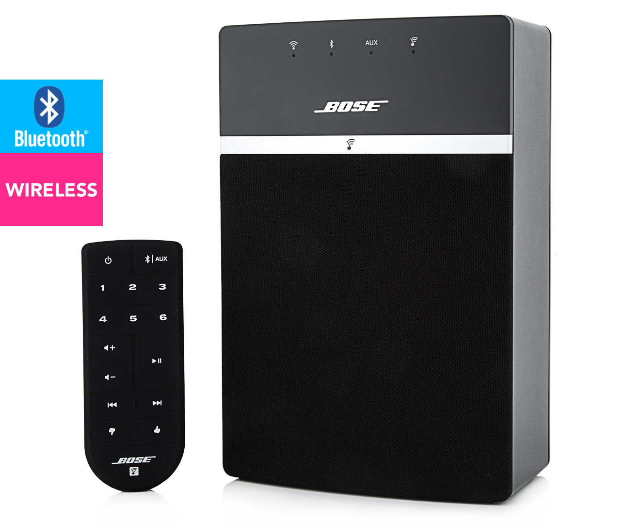 bose soundtouch 10 inch wireless speaker black ebay. Black Bedroom Furniture Sets. Home Design Ideas