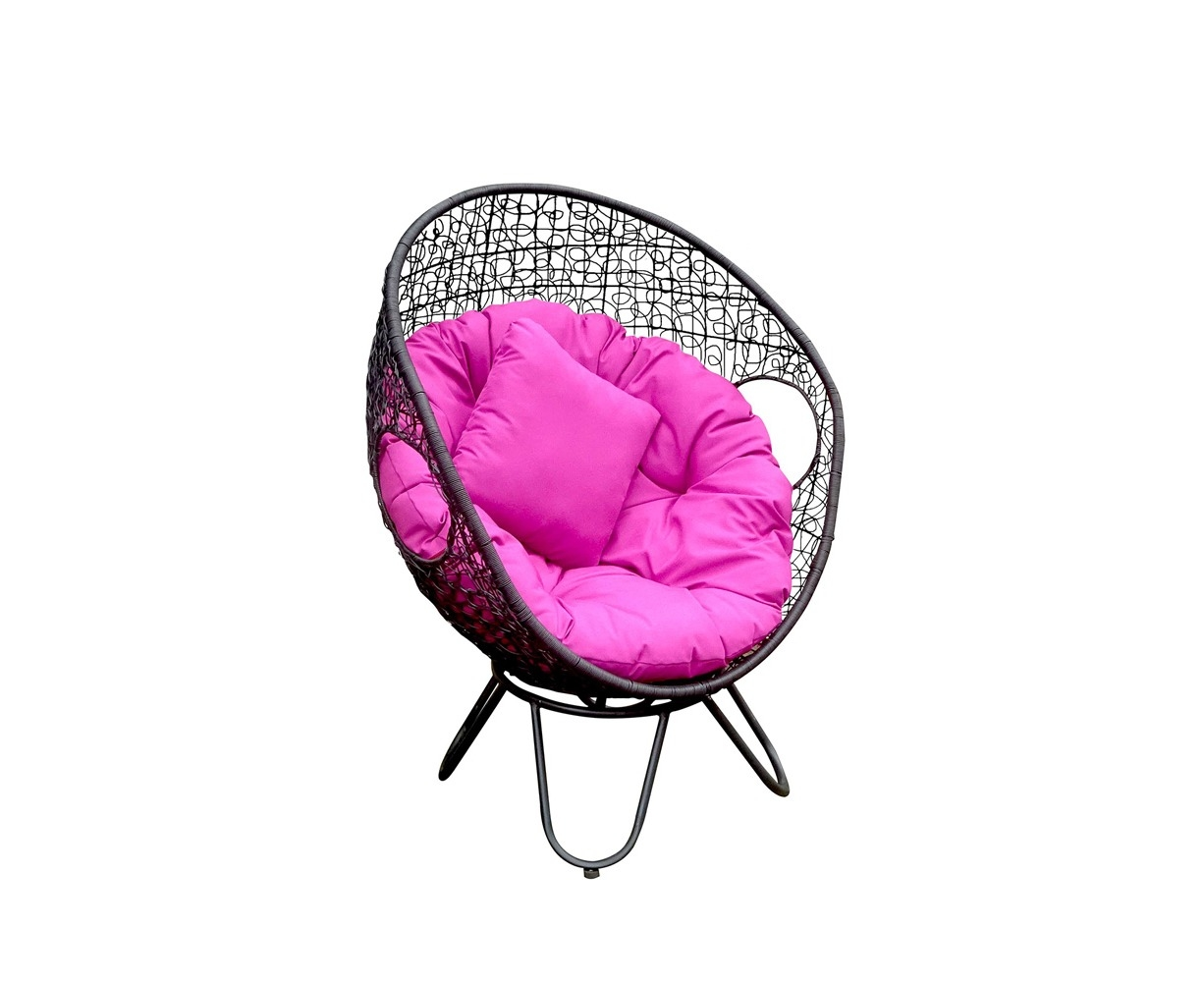 serrana round wicker swivel egg chair groceries online online grocery store. Black Bedroom Furniture Sets. Home Design Ideas