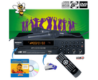 SONKEN MP600 KARAOKE MACHINE STARTER PACK - CD+G / DVD / MP3+G 1