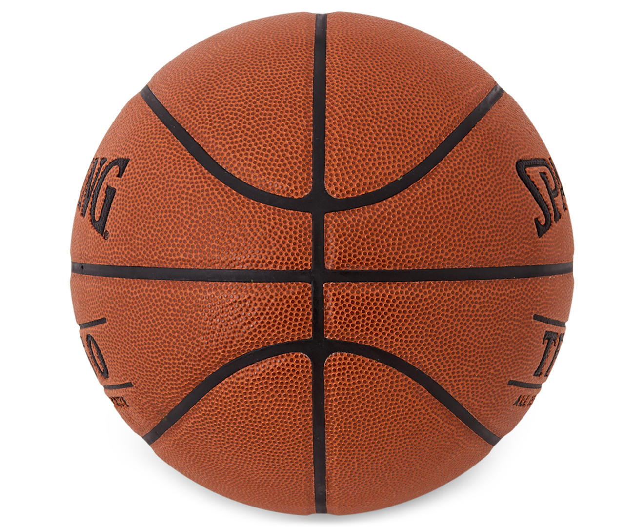 Spalding TF-250 Size 7 All Surface Basketball - Orange ...