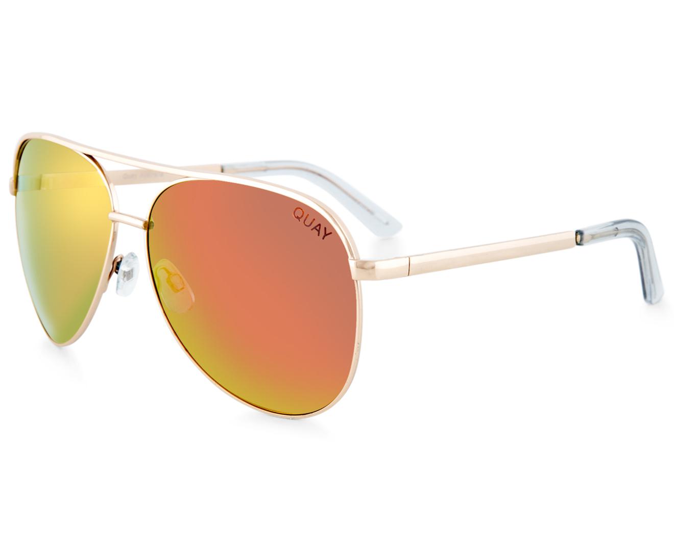 557e6a83e5 Quay Australia Vivienne Sunglasses - Gold Rose