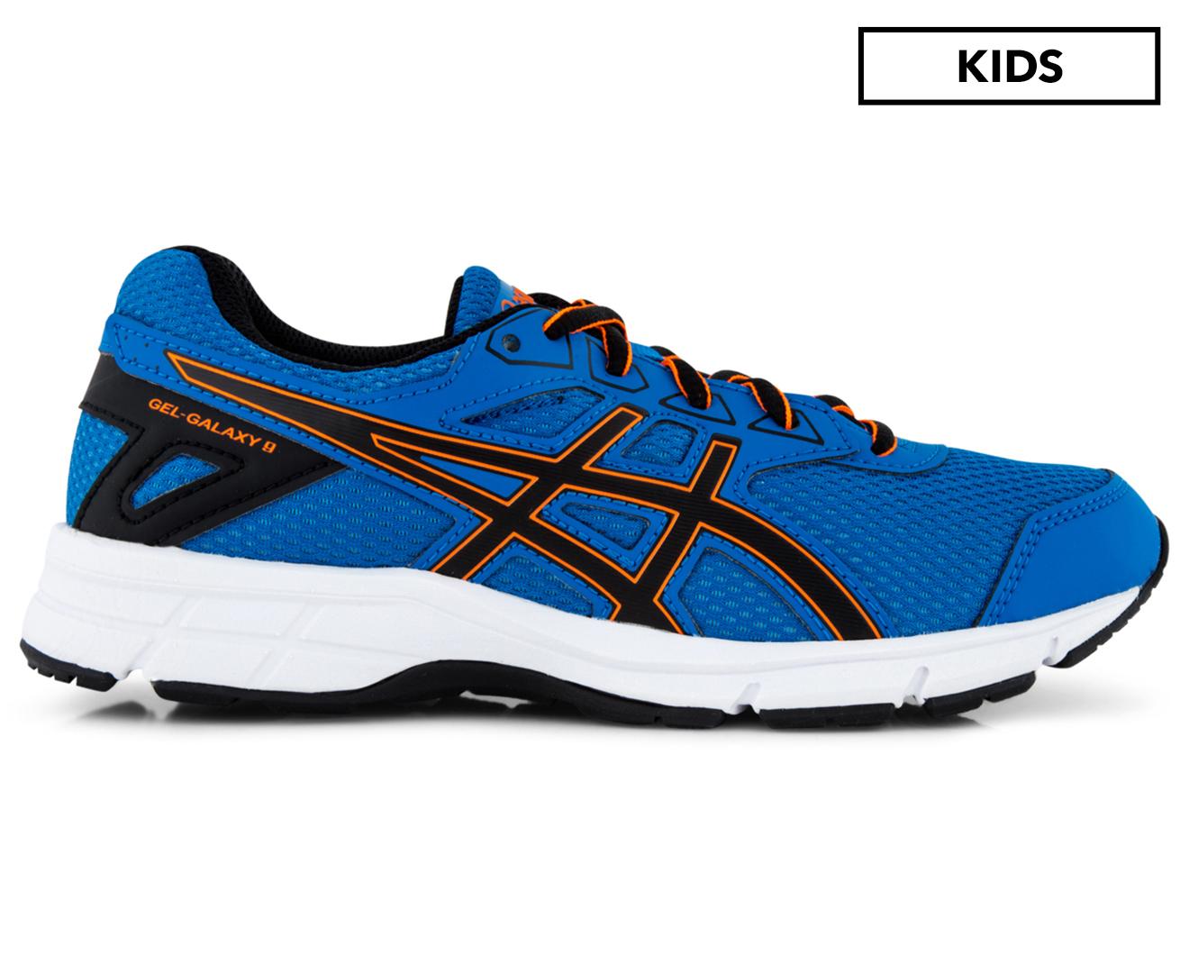 Asics Orange Boys Running Shoe