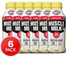 6 x Muscle Milk Protein Shake Banana 414mL 1