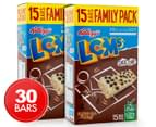 2 x LCMs Choc Chip Bars 15pk 330g 1