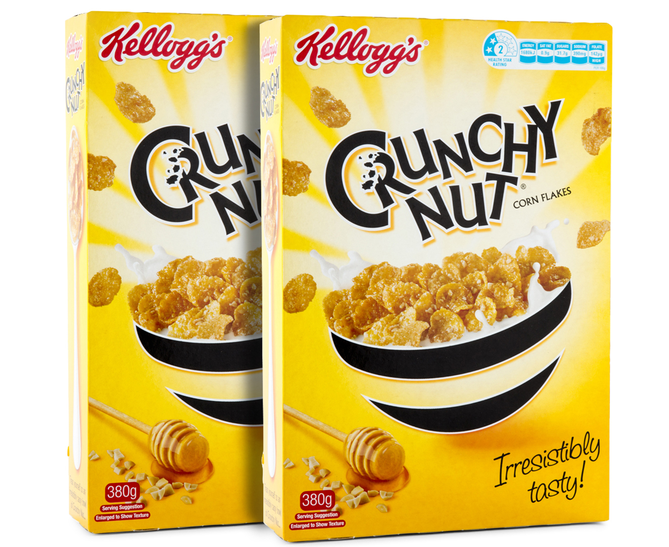 2 X Kelloggs Crunchy Nut Corn Flakes 380g Ebay Deal