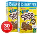 2 x LCMs Coco Pops w/ Milk Bars 15pk 330g 1