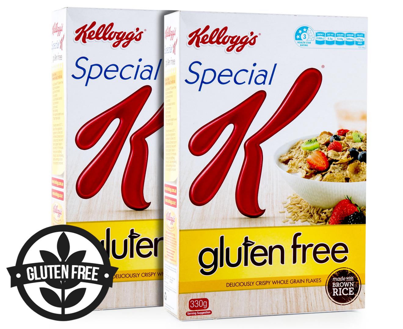 2 x Kellogg's Special K Gluten Free 330g | GroceryRun.com.au
