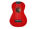 Axiom Spectrum Soprano Beginner Ukulele - Red 2