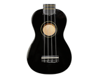 Axiom Spectrum Soprano Beginner Ukulele - Black with Bag 2