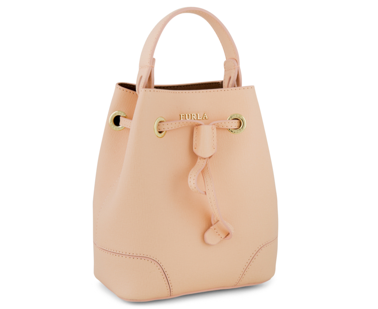 254099076299 Furla Stacy Mini Bucket Bag - Rosa Chiaro C | Catch.com.au