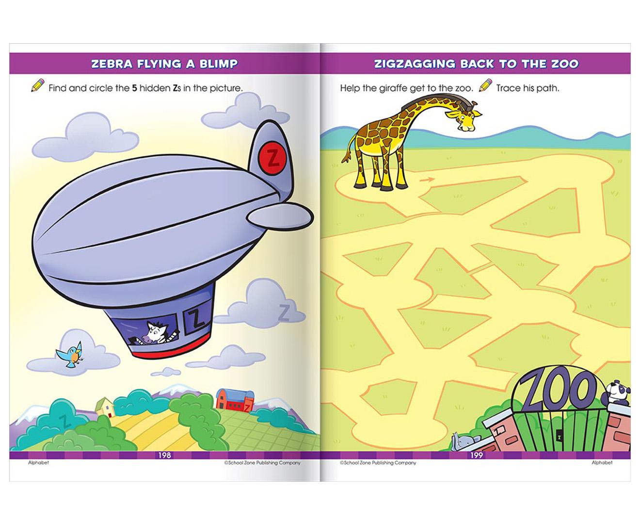 Hinkler School Zone Big Preschool Workbook 9781488908743   eBay