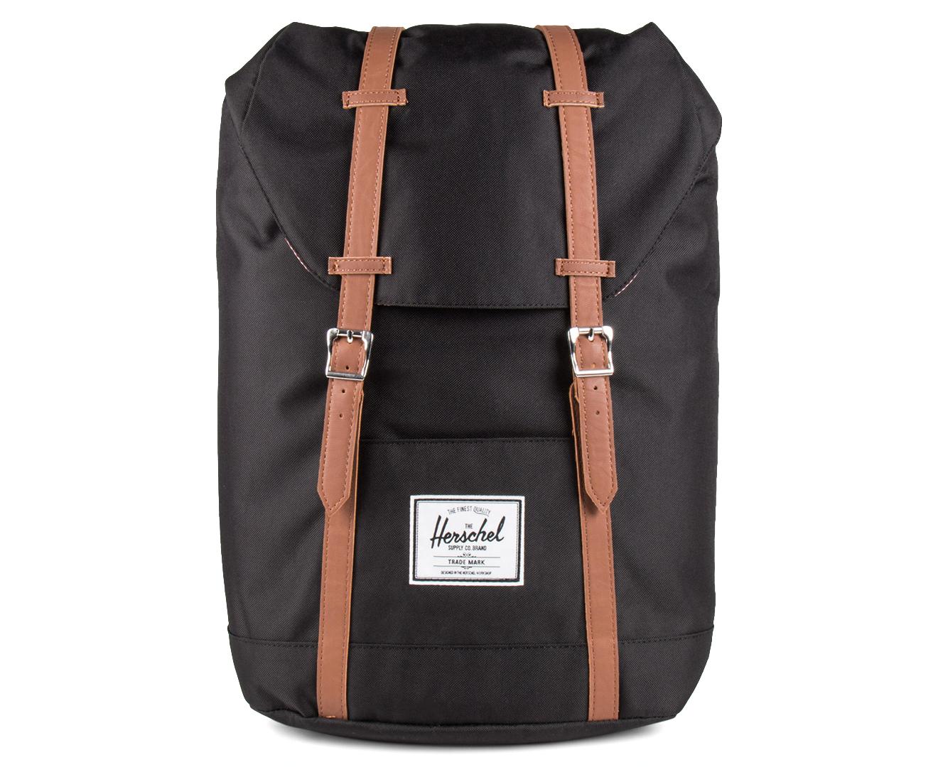 Herschel Supply Co. 19.5L Retreat Backpack - Black 828432018734   eBay 24ecda14a8