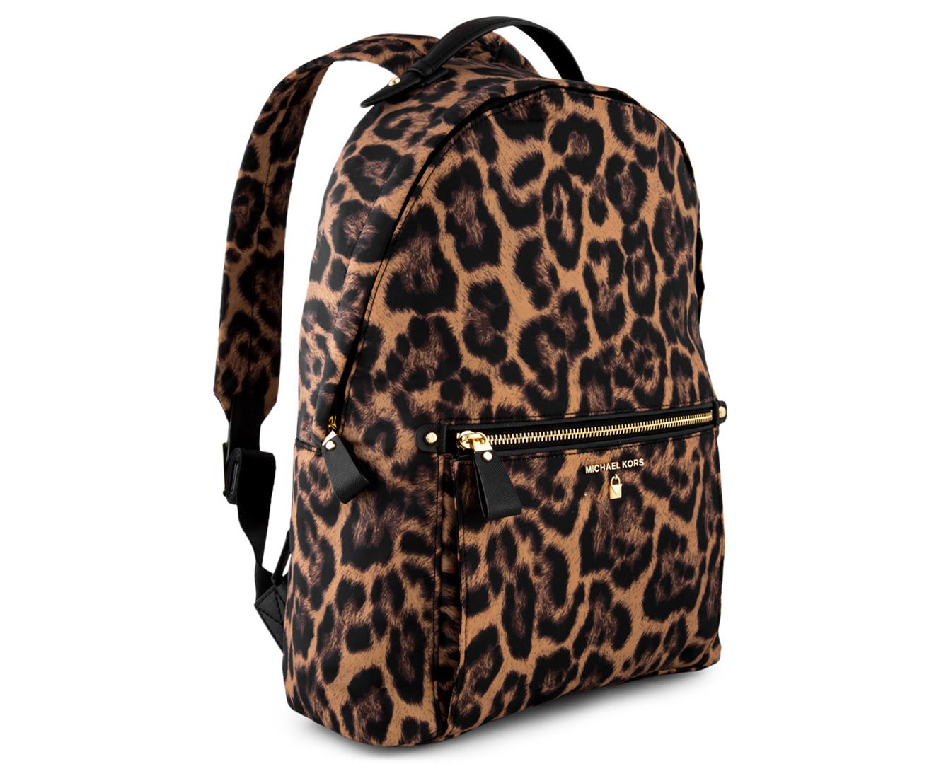 4892688aae7814 Michael Kors Kelsey Backpack - Butterscotch | Catch.com.au