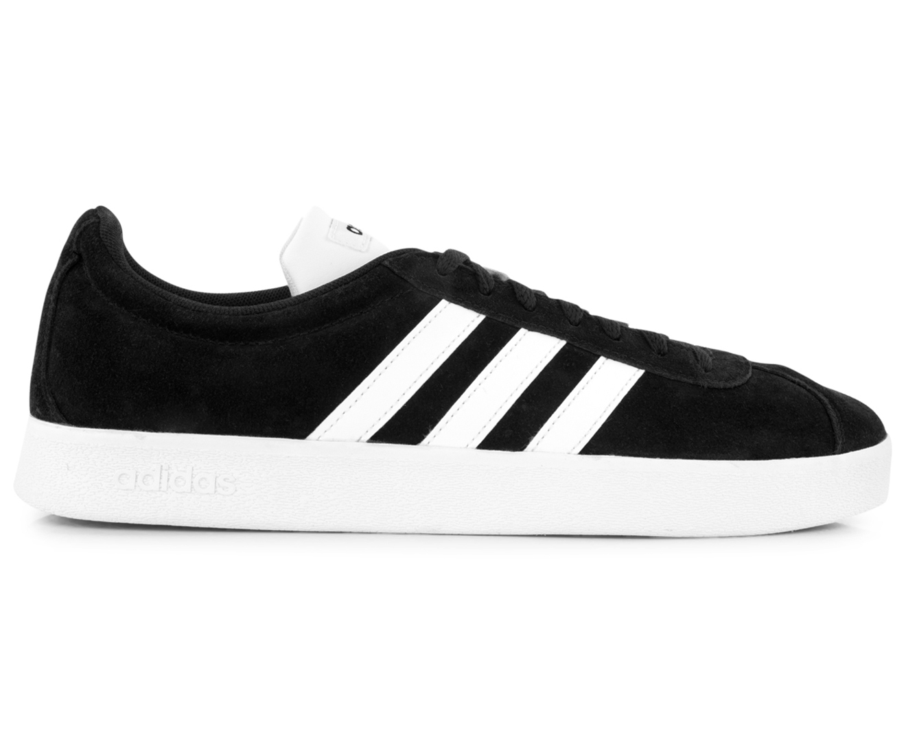 Adidas Men's VL Court 2.0 Sneakers Core BlackWhiteWhite