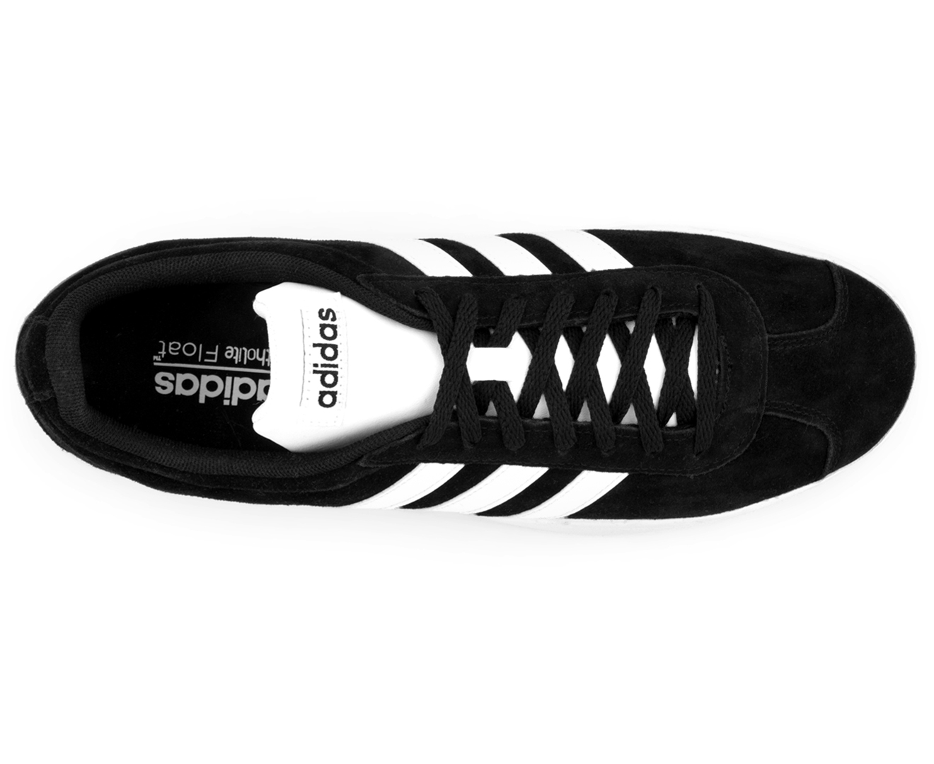 Details about Adidas Men's VL Court 2.0 Sneakers Core BlackWhiteWhite