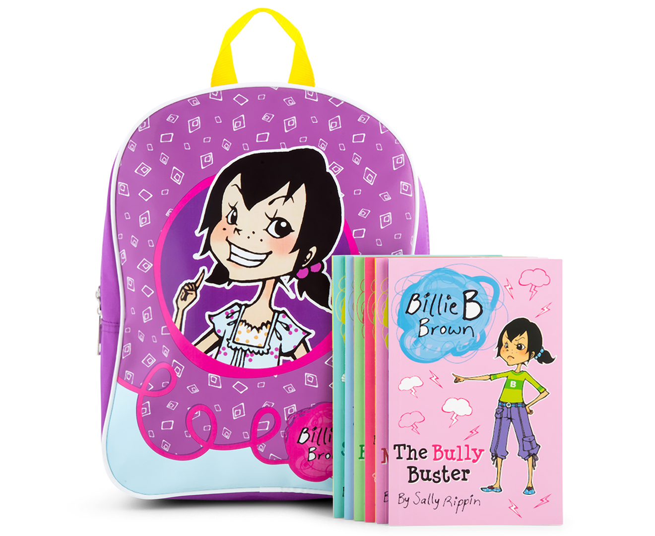 7e70e31e23 Billie B Brown Best-Ever Backpack w  6 Books