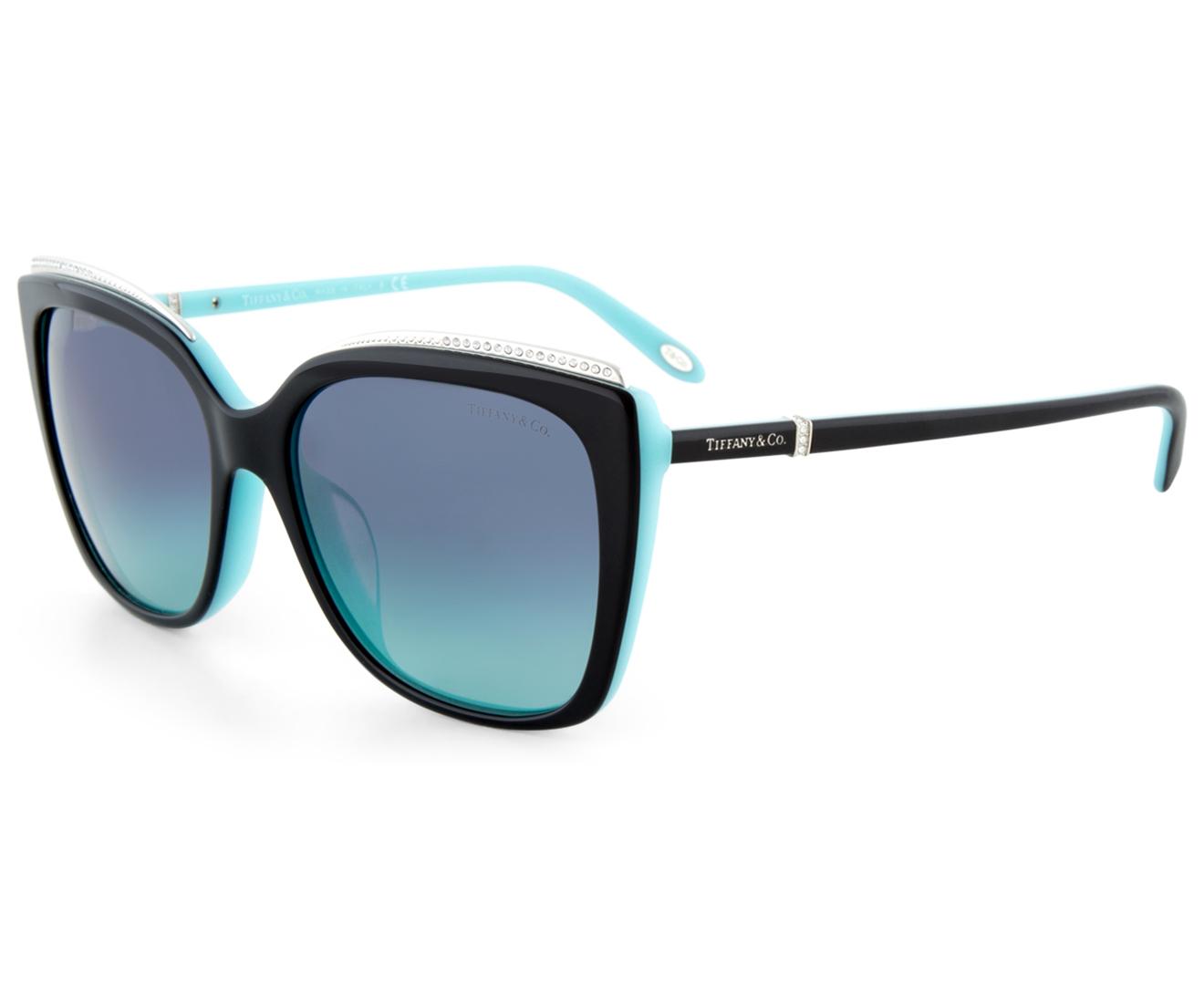 Tiffany Amp Co Women S 0tf4135bf Square Sunglasses Black