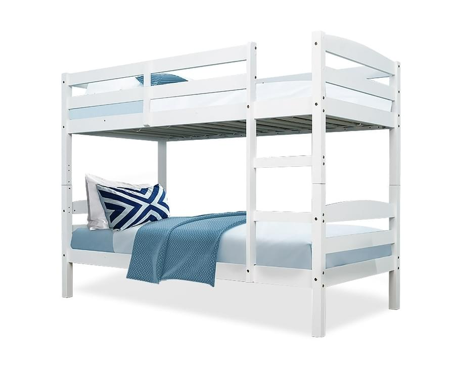 2-in-1 Single Bunk Bed Frame