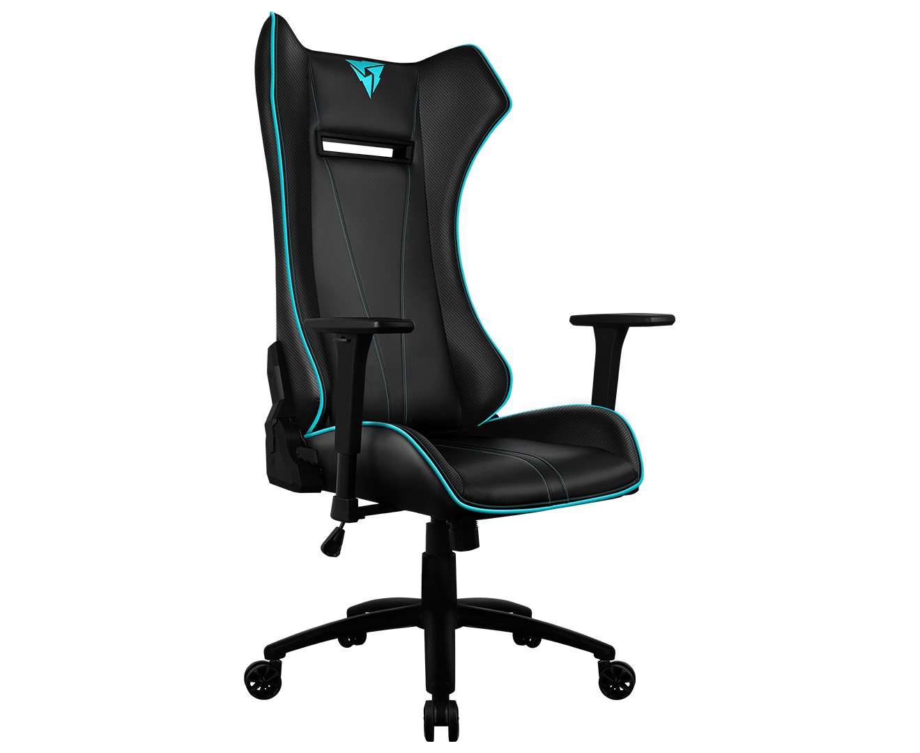 Thunderx3 Uc5 Hex Rgb Lighting Gaming Chair Black Cyan