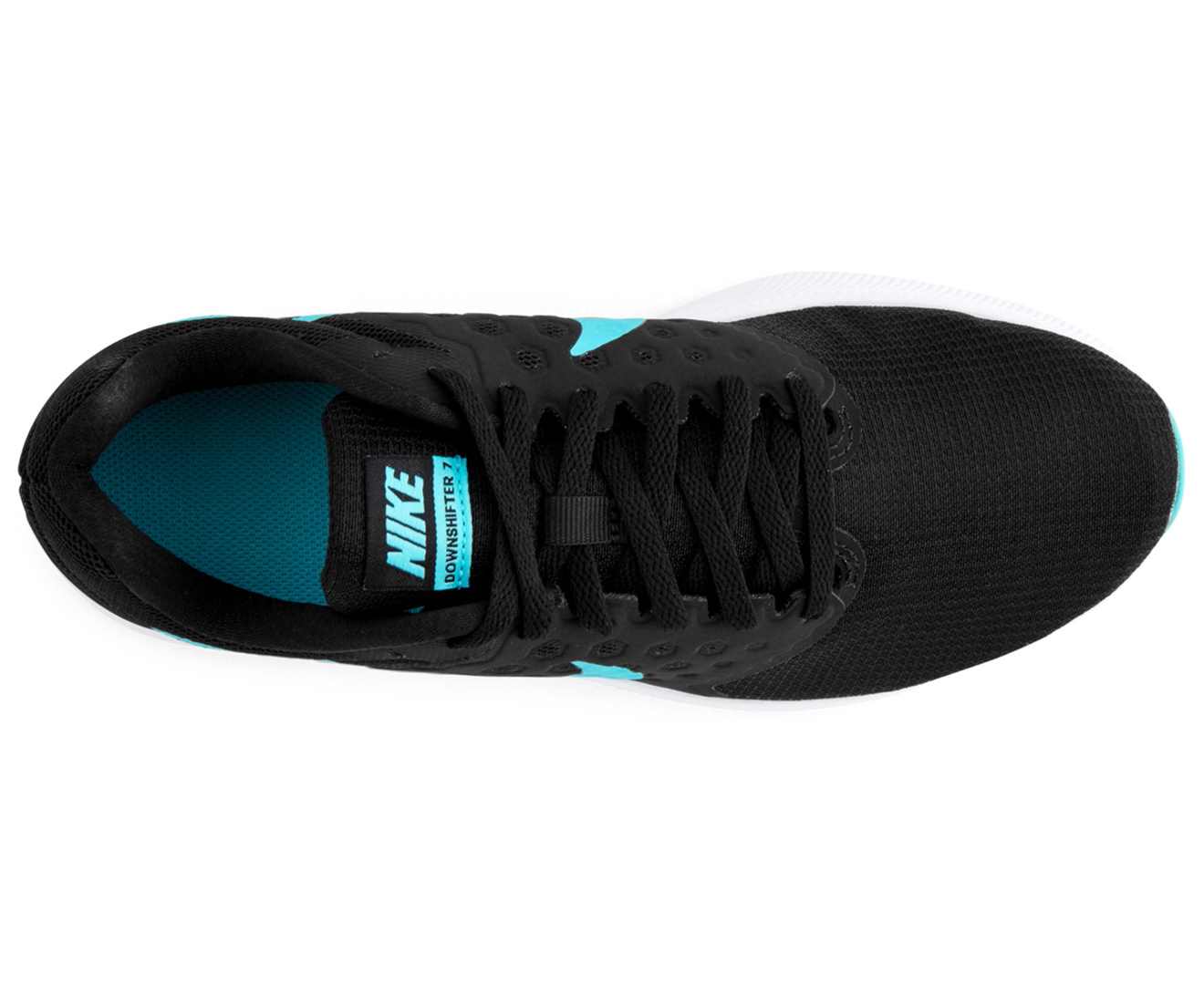 Nike Women's Downshifter 7 Shoe BlackPolarised BlueWhite