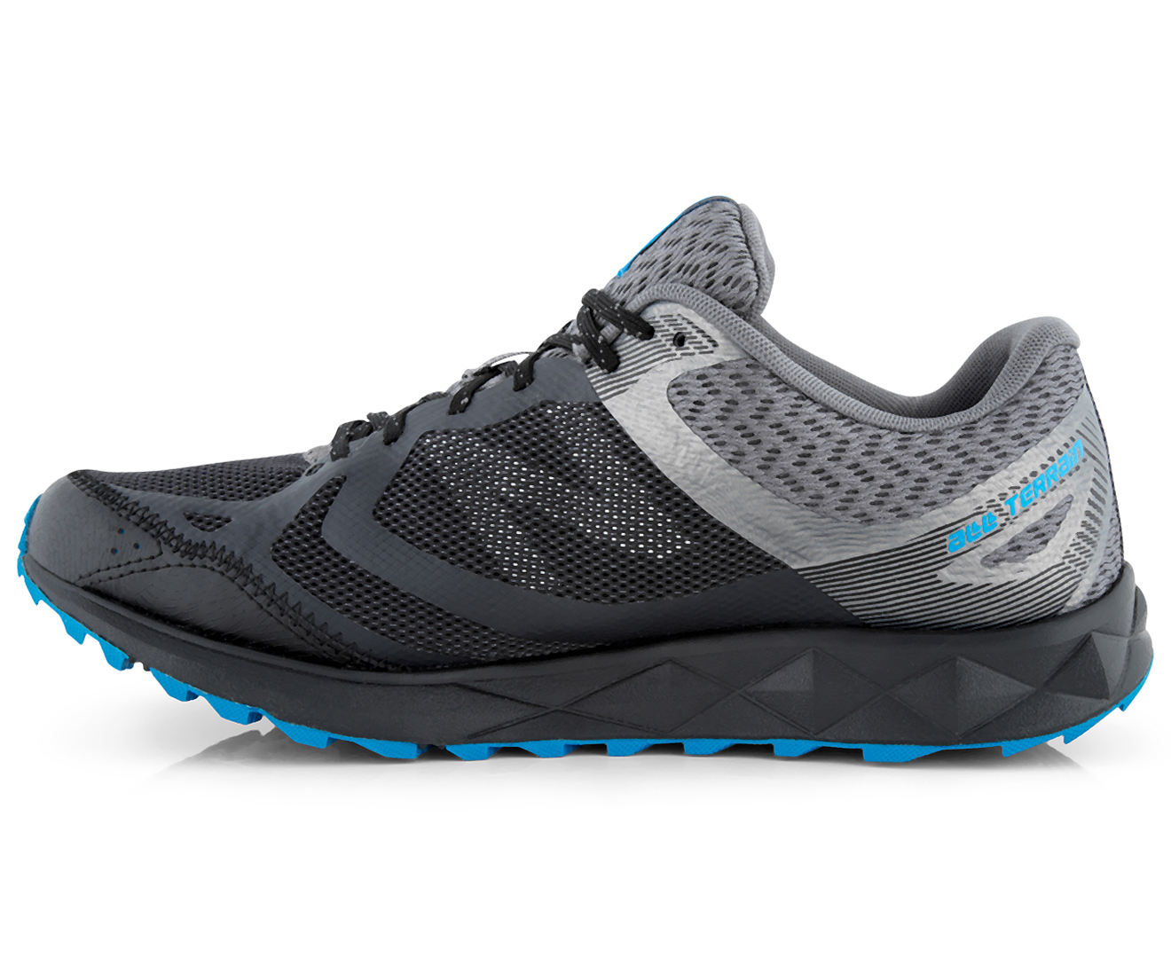 39d7fce4df13 New Balance Men s 590 V3 2E Wide Fit Trail Shoe - Black Castlerock Bolt