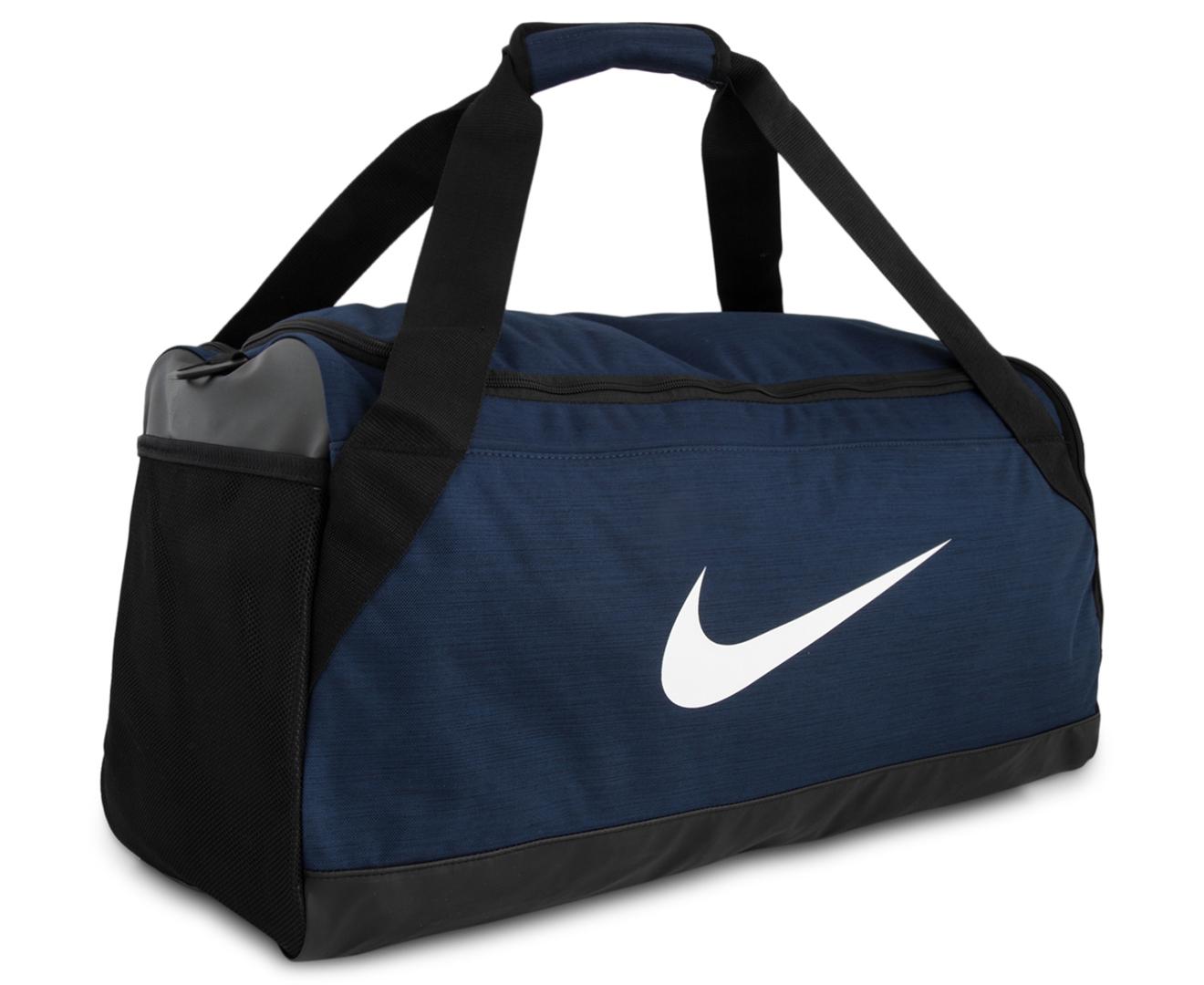 diversificado en envases último vendible Nike 61L Brasilia Medium Training Duffle Bag - Midnight Navy/Black ...