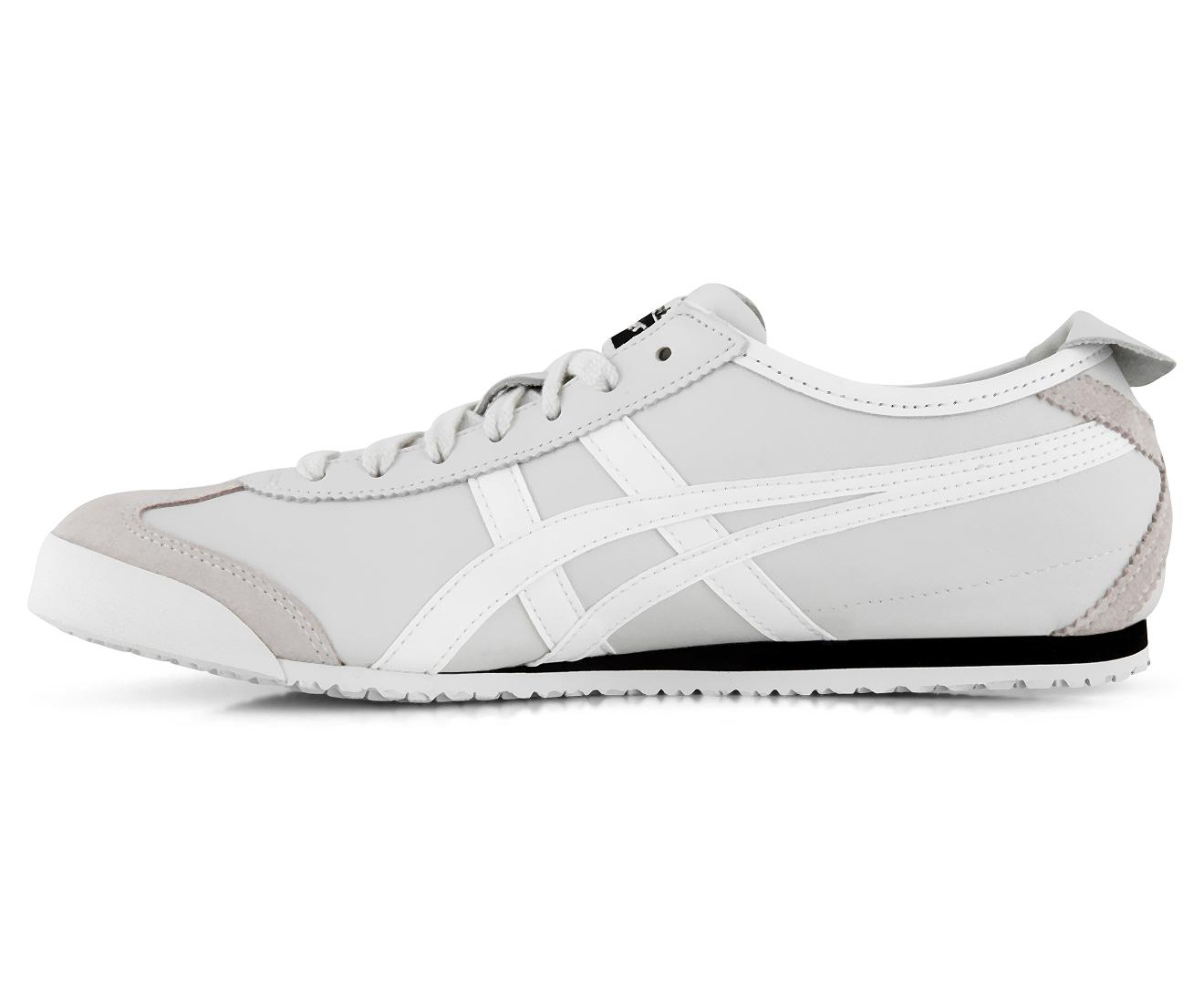 promo code cb03f 2c56d Onitsuka Tiger Men's Mexico 66 Shoe - Vaporous Grey/White