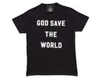 Girls God Save the World T-Shirt 1