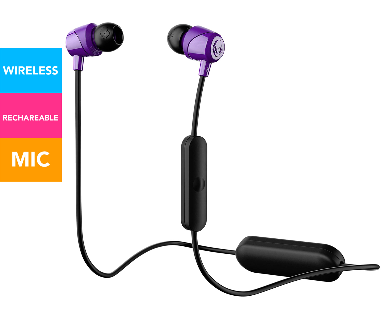 Earbuds bluetooth wireless purple - wireless bluetooth earbuds by freedom